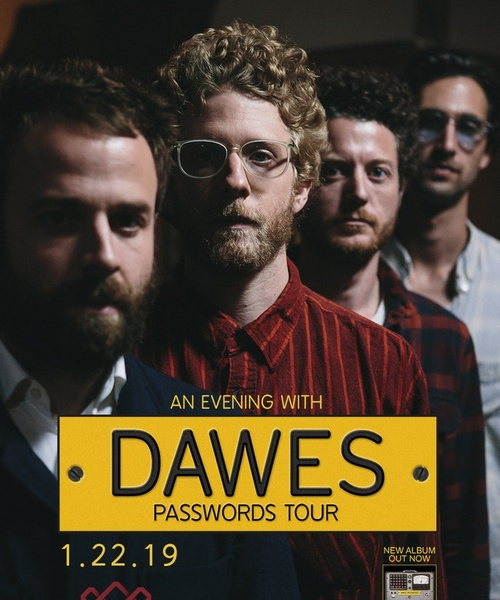 KRCL Presents: An Evening with Dawes: Passwords Tour