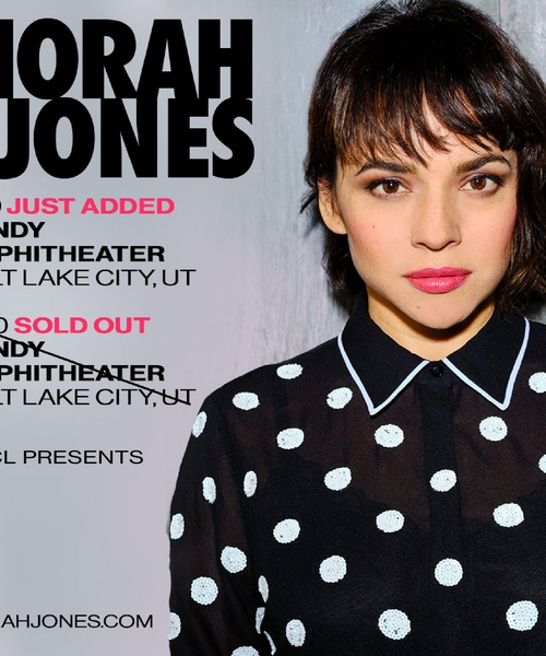 KRCL Presents: Norah Jones, July 20 at the Sandy Amphitheater // Second Show Added!