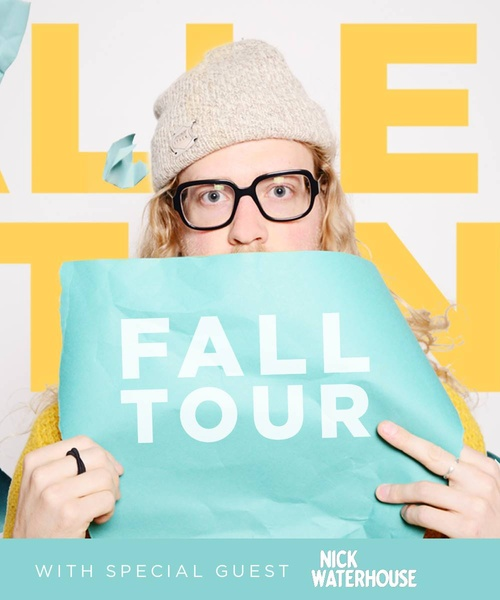 KRCL Presents: Allen Stone with Nick Waterhouse at The Complex on Dec. 8