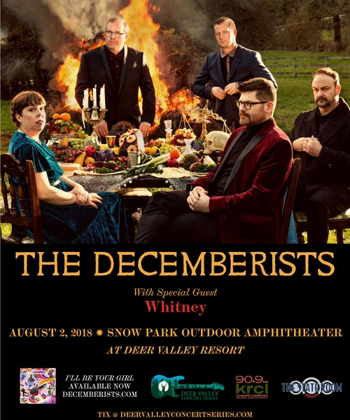 KRCL Presents: The Decemberists at Deer Valley Resort on Aug 2