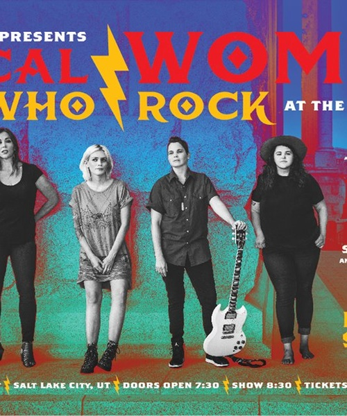 Local Women Who Rock at The Depot, Sept 28